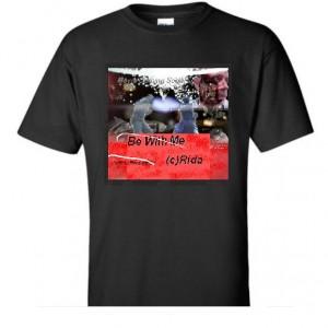 T-shirt BeWithMeLaser Black