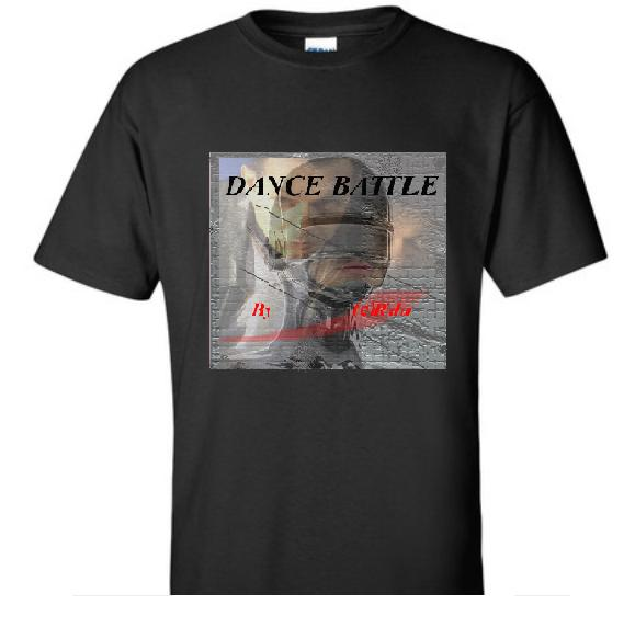 T-shirt Dancebattle Black